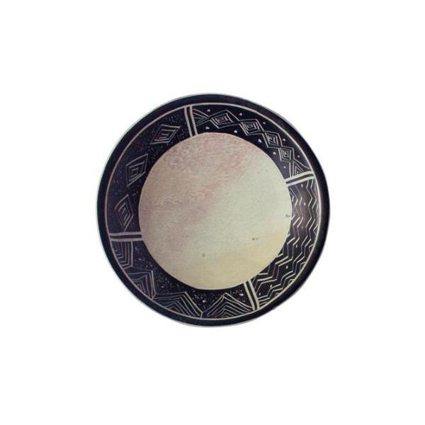 Rosie Soapstone Rounded Plate