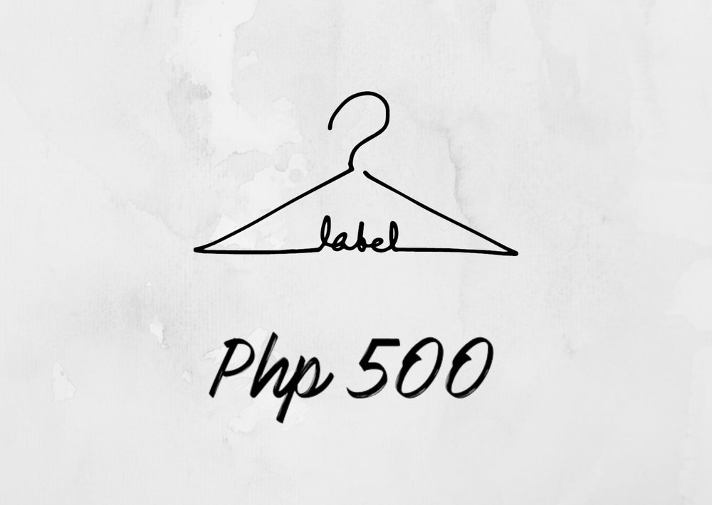 Label Gift Card Php500.00