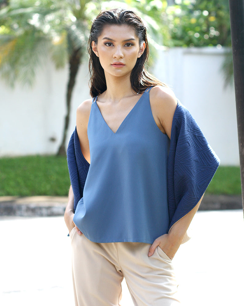 Scilla in Blue & Khaki