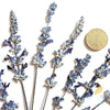 10 Pcs Blue Dried Lavender Real Natural Dried Flowers Bag Decoration Handled