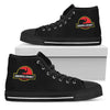 High Top Shoes Jurassic Park Elephant