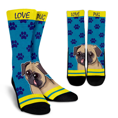 Pug Face Socks