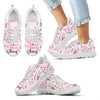 Vintage Flower Watercolor It's A Nana Thing Sneakers