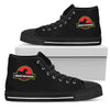 High Top Shoes Jurassic Park Dachshund
