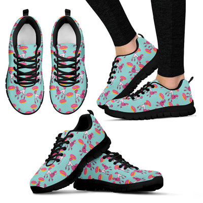 Poodle Retro Donuts Pattern Sneakers V1