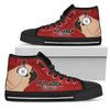 Pug Red Rock Records High Top Shoes