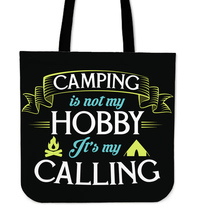 Camping Is Not My Hobby Tote Bag V1