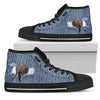 Break The Wall Elephant High Top Shoes