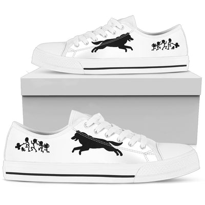 My Husky Ate Your Stick Family Low Top Shoes