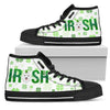 Irish Samoyed High Top Shoes