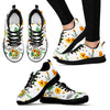 Vintage Flower Watercolor Aunt Sneakers