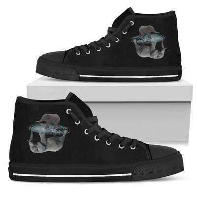 Elephant Dream Reflect Water High Top Shoes