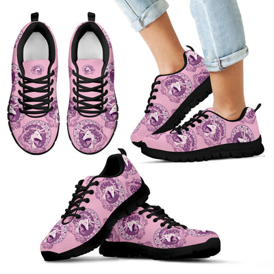 Unicorn Dreaming Cute Pink Sneakers