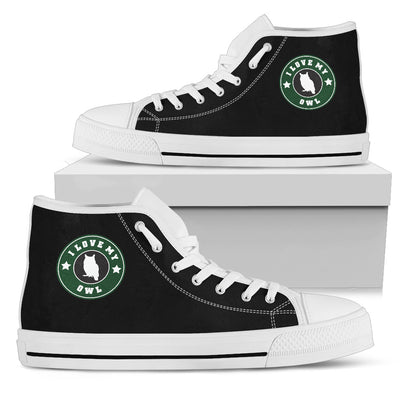 Starbucks Owl High Top Shoes