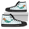 High Top Shoes Chihuahua Mermaid Unicorn Cute Beach Swim