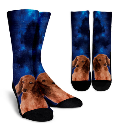 Nice Dachshund Socks - Dachshund Galaxy, is a cool gift for friends