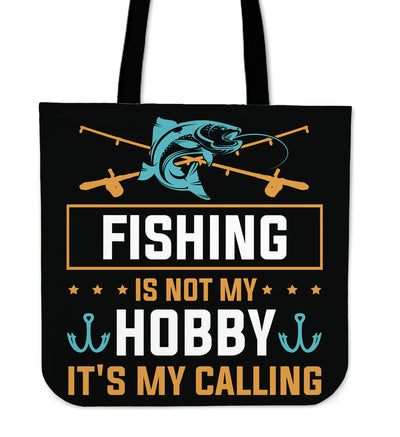 Fishing Is Not My Hobby Tote Bag V2