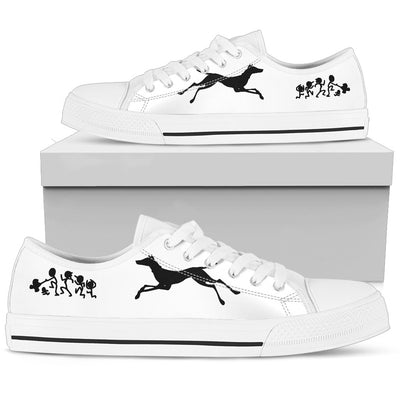 My Doberman Ate Your Stick Family Low Top Shoes