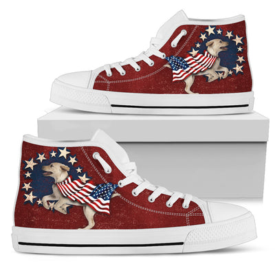 Labrador Independence Day High Top Shoes