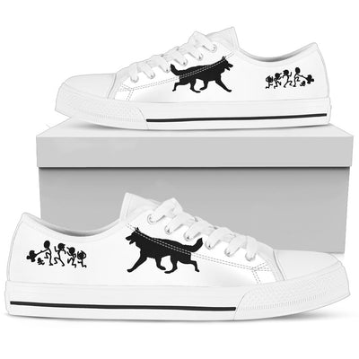 My German Shepherd Ate Your Stick Family Low Top Shoes