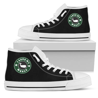 5290bd04d52ab Starbucks Whale High Top Shoes