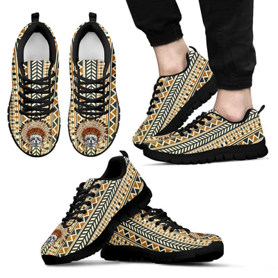 Indian Ethnic Pattern Schnauzer Sneakers