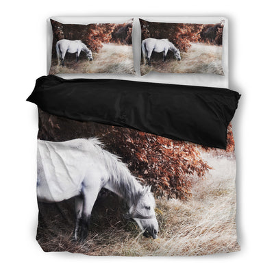 Horse HD Vintage Bedding Set