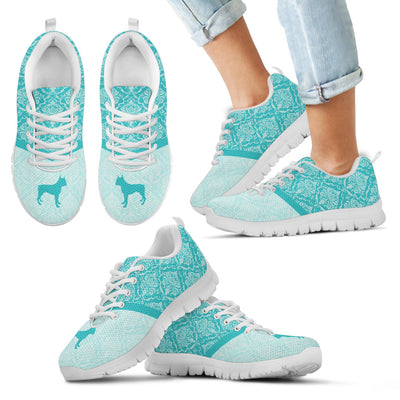 Pitbull Floral Paisley Vintage Pastel Sneakers