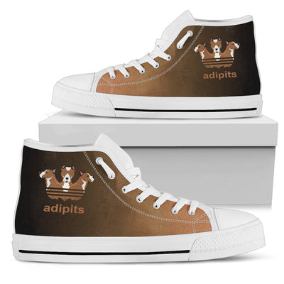 Adipits Pitbull Funny High Top Shoes