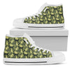 Camouflage Soldier Military Poodle High Top Shoes