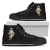 High Top Shoes Pug Dream Reflect Water