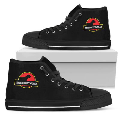 High Top Shoes Jurassic Park Rottweiler