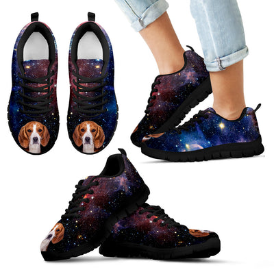 Nice Beagle Sneakers - Galaxy Sneaker Beagle, is a cool gift