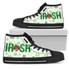 Irish Poodle High Top Shoes