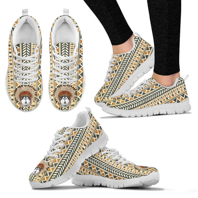 Indian Ethnic Pattern Husky Sneakers