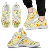 Vintage Flower Watercolor Mama Sneakers