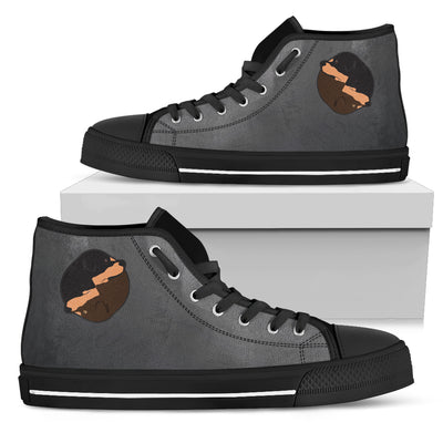 Rottweiler Yin Yang Style High Top Shoes