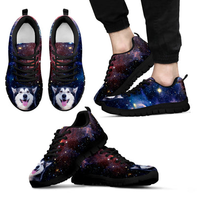 Nice Husky Sneakers - Galaxy Sneaker Husky, is an awesome gift