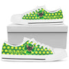 Happy St. Patrick's Day Vintage Style Chihuahua Low Top Shoes