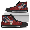 Beagle Independence Day High Top Shoes