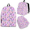 Cat Face Cute Pattern Backpack
