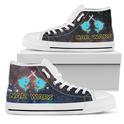 Nar Wars Whale High Top Shoes
