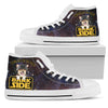 Corgi Welcome To The Bark Side High Top Shoes