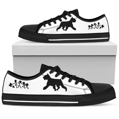 My Schnauzer Ate Your Stick Family Low Top Shoes