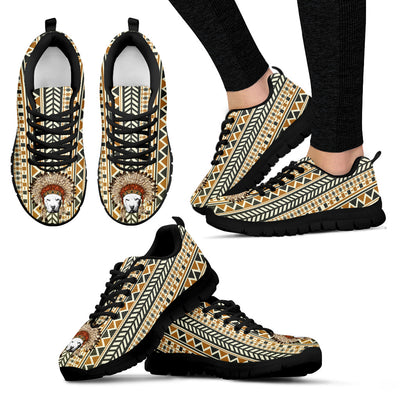 Indian Ethnic Pattern Pitbull Sneakers