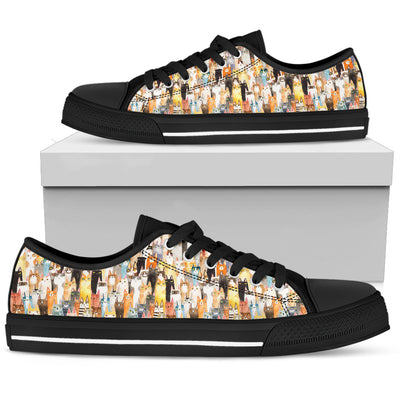 Cat Low Top Shoes