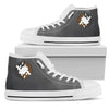 Siberian Husky Yin Yang Style High Top Shoes