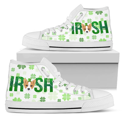 Irish Corgi High Top Shoes