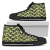 Camouflage Soldier Military Dachshund High Top Shoes