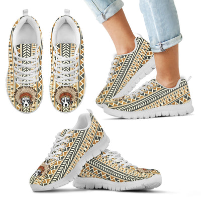 Indian Ethnic Pattern Beagle Sneakers